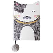 Pussycat notebook,  unique stationery